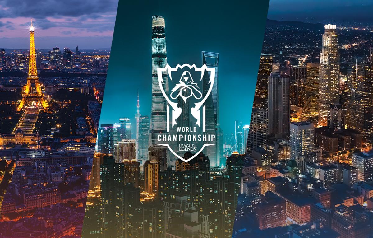 2019~2021年のWorld Championship開催地域