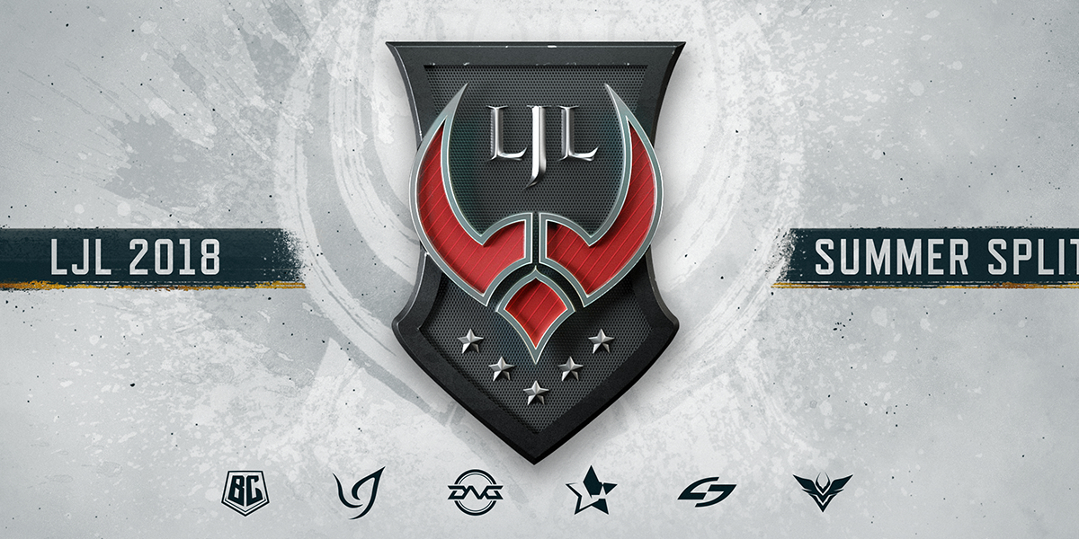 LJL 2018 Summer Promotion Series対戦組み合わせ発表