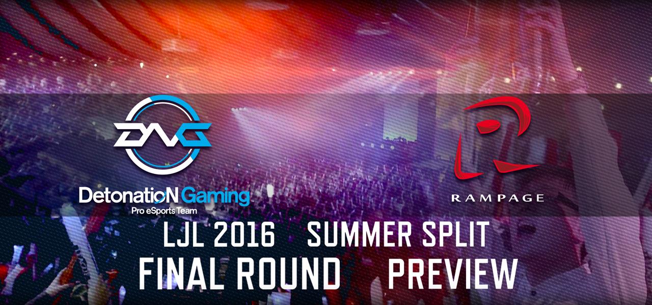 LJL 2016 Summer Split Final プレビュー