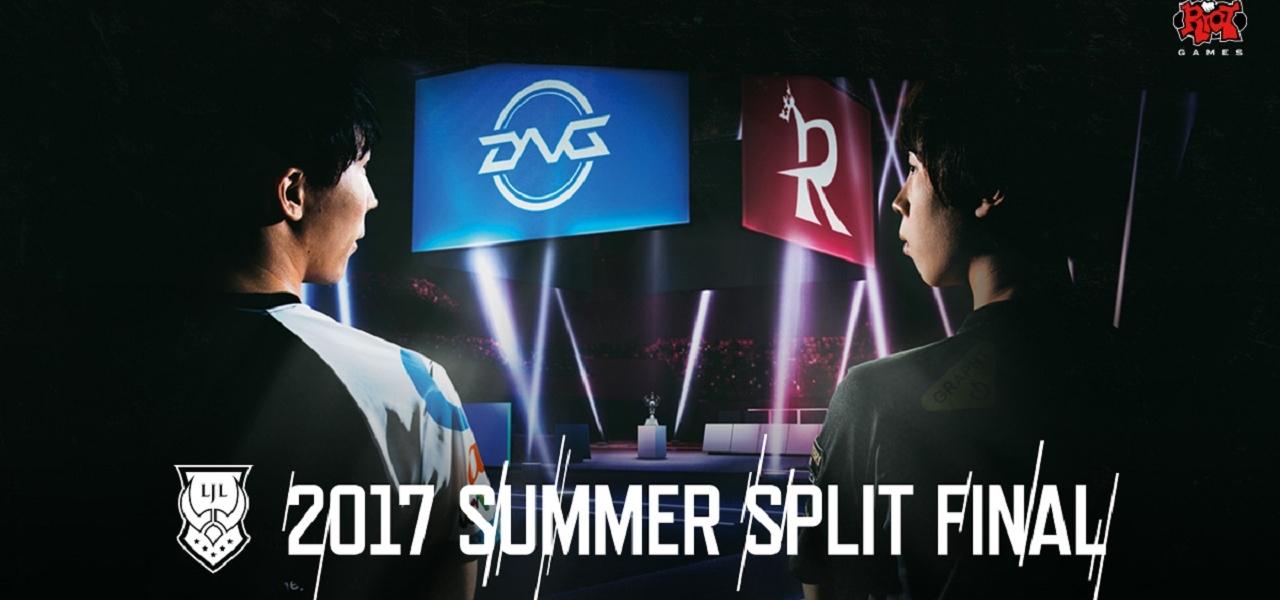 LJL 2017 Summer Split Final Sponsor
