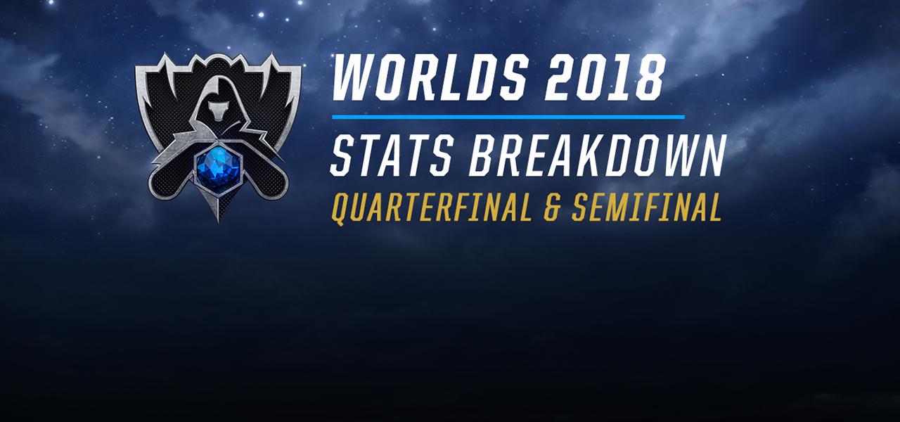 数字で見るWorlds2018【Quarterfinal & Semifinal】