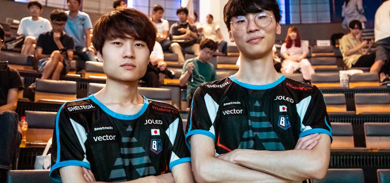フレッシュチームBCを支える韓国人選手Once & Medic